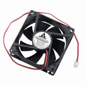 Dual-Ball-Bearing-Brushless-Cooling-Exhaust-Fan-12V-0-35A-80MM-80x80x25mm-2Pin
