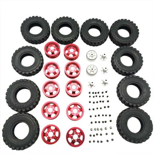 For WPL B14 B24   Q62 Q63 1//16 RC Car Truck Double Tire Metal Wheel DIY