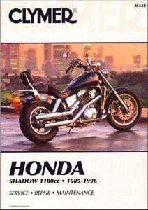 Image Is Loading 1985 1996 Honda Shadow VT 1100 CLYMER REPAIR