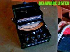 Antique General Electric Ge Type Dp 9 Analog Millivolt Voltmeter Bakelite Case