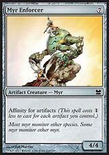 *MRM* ENG 4x Myr Enforcer/ Argousin myr MTG MM1
