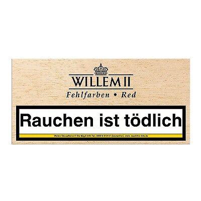 Willem II Fehlfarben Red 100 Zigarillos / 48021