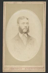 Antique-CDV-Photograph-Gent-with-Wonderful-Sideburns-Raised-Oval-photograph