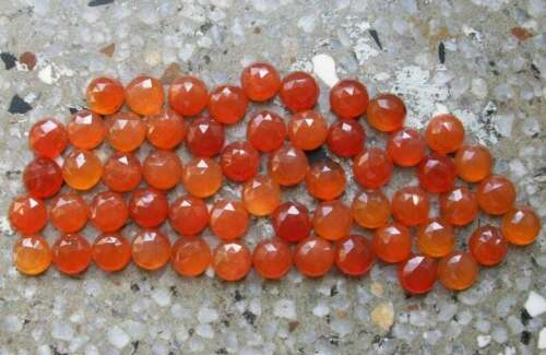 Lot 100/% Natural Carnelian 10x10mm Round Rose Cut Loose Gemstone Details about  /Lot Top Rare