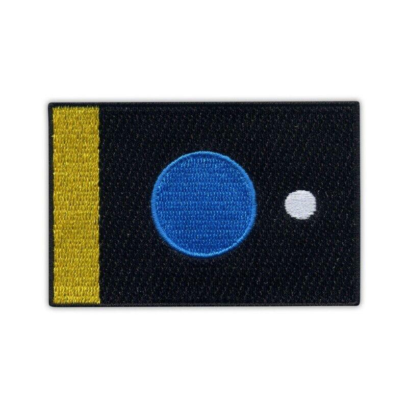 the Flag of the Earth by Miha Artnak & Srdan Prodanovic - simple border Embroide