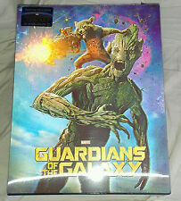 New Guardians of the Galaxy Lenticular Steelbook Bluray 3D+2D Blufans