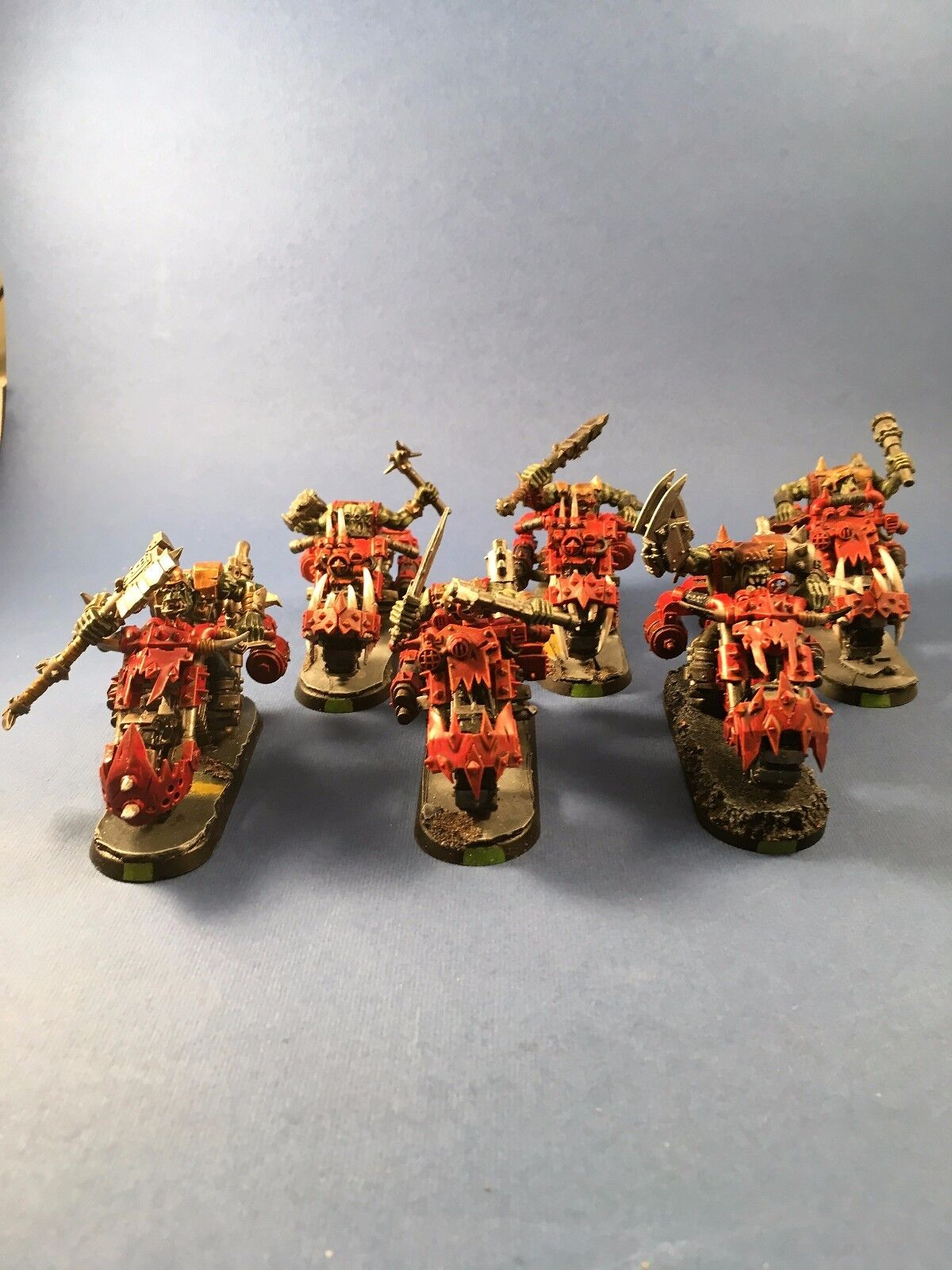 GW 40K Orks warbiker mafia-Pro Pintado