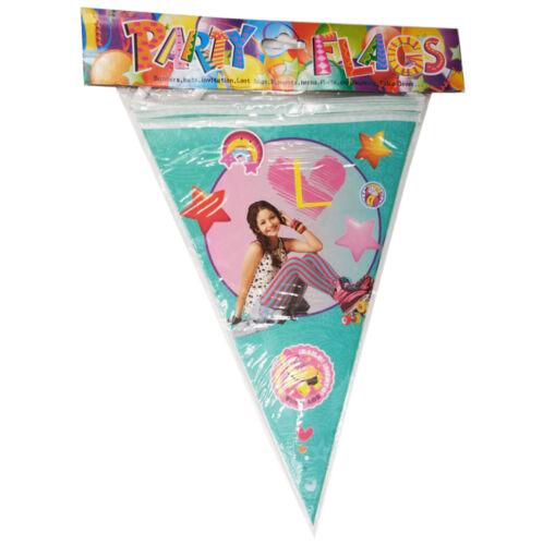 "20/"" Soy Luna Birthday Balloons Party Latex Balloon SUPPLIES DECORATION NAPKINS"