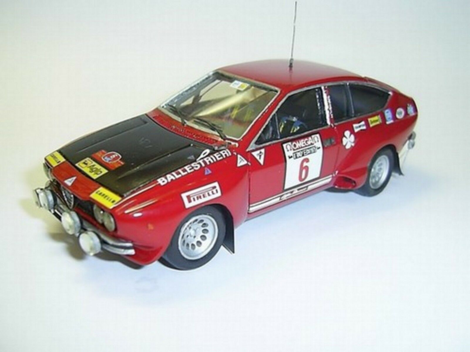 Kit Alfa Romeo Alfetta GT Gr.2  6 Rally Elba 1975 - Tron Models kit 1 43