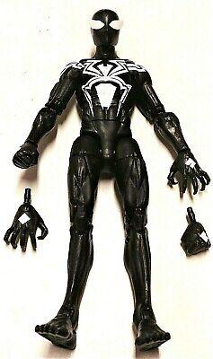 Marvel Legends SYMBIOTE SPIDER-MAN Loose Complete No Kingpin BAF Hasbro IN HAND!