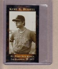 Kurt Russell 2nd baseman, 1977 El Paso Sun Kings later won fame as an actor
