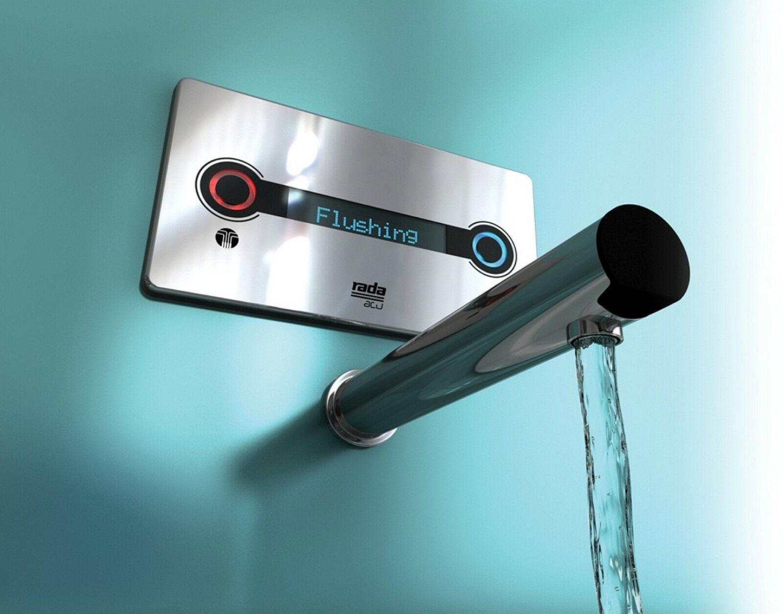 Rada acu-t3 DMV commande numérique et affichage mitigeur thermostatique robinet, bec 225 mm