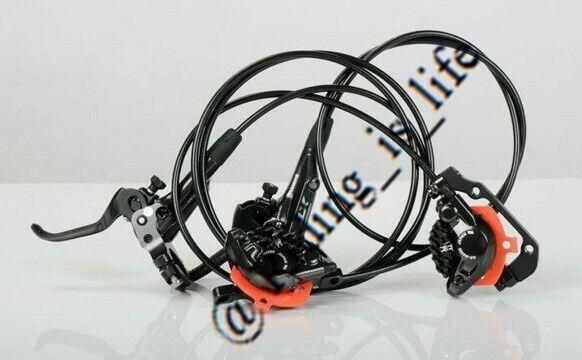 Shimano XT M8000 MTB Disc Brake Set Front/&Rear Set With Resin Pad-Black