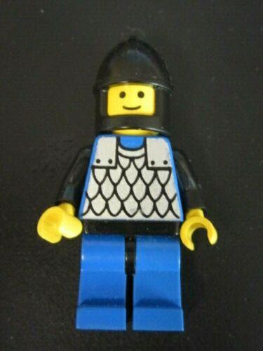 Lego cas141 Minifig Figur Kettenhemd blau