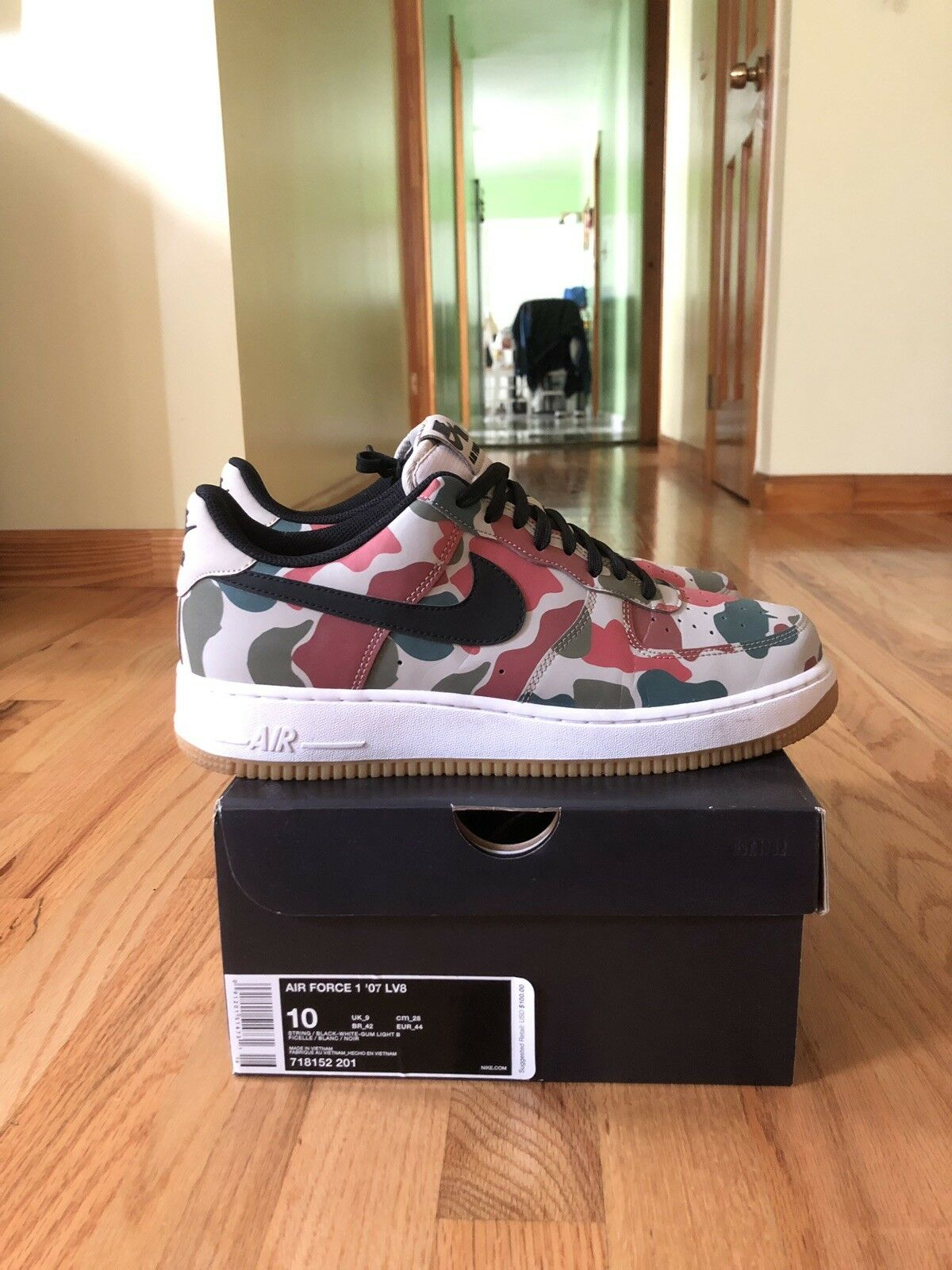 Nike Air Force 1 Duck Camo Pre Owned Used Worn