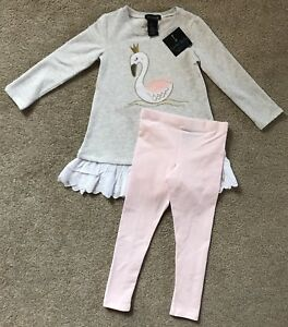 Cynthia Rowley 2 Piece Legging Outfit For A Toddler Girl In Size 3t