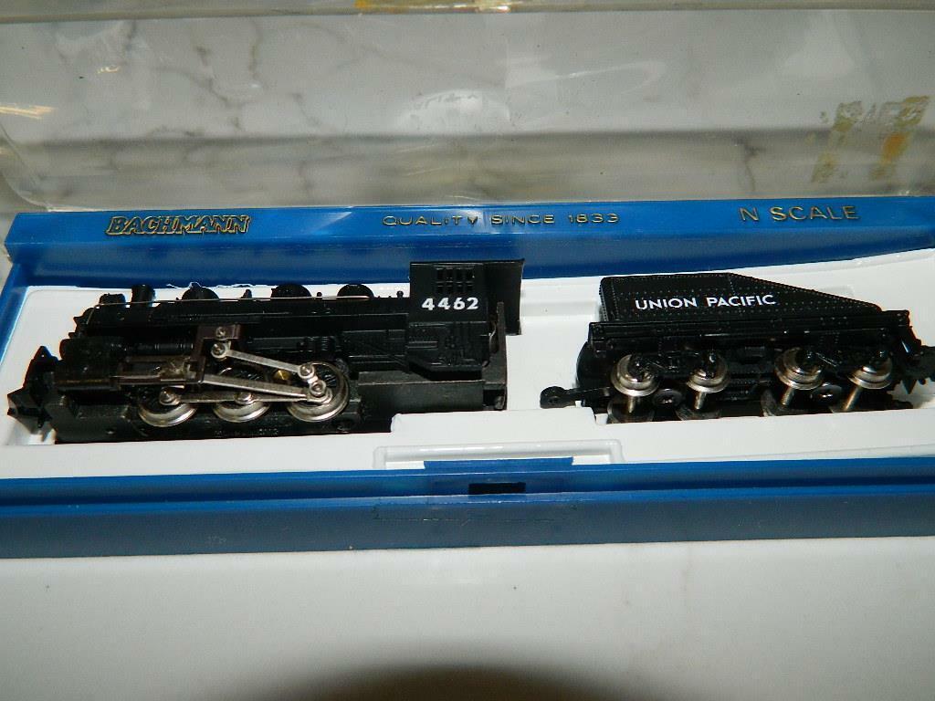Bachmann N Scale 0-6-0 Usra upsteam loco con pendiente TDR Santa Fe RD  4462  4807 Nuevo En Caja