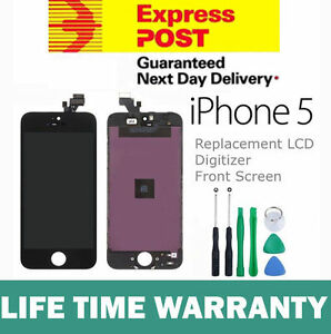 For-iPhone-5-Replacement-LCD-Digitizer-Front-Screen-Assembly-Panel-Tools-Black