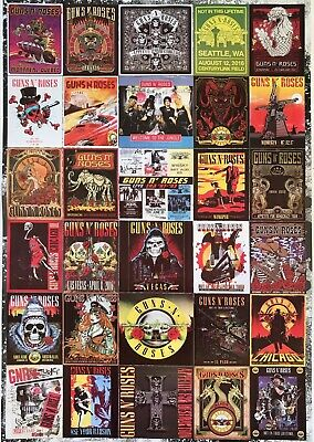 Guns N Roses Appetite for Destruction 30 x 40 Textile//Fabric Poster Collections Fabric Poster Print 30x40