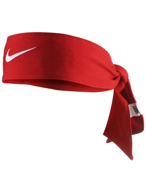 35ecb35c1cdb Nike Dri-fit Girls Head Tie 2.0 Red 2000861 for sale online