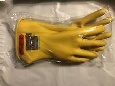 New Salisbury By Honeywell Lineman Gloves Class 0 Type I Yellow Size 9