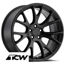 "20x9"" inch Dodge Challenger SRT Hellcat OE Factory Satin Black Wheel Rims 5x115"