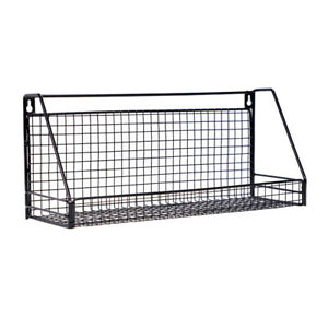 Industrial-Wall-Mounted-Shelf-Unit-Metal-Wire-Floating-Shelves-Home-Storage-W8H
