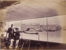 Pula Croatie Photo Kettlewell captainyacht Marchesa UK Vintage albumine ca 1881