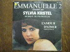 BOF EMMANUELLE 2 45 TOURS FRANCE SYLVIA KRISTEL LAI