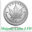 2017-Silver-Shield-Canada-Mock-Cannabis-1-oz-999-Silver-Round thumbnail 1