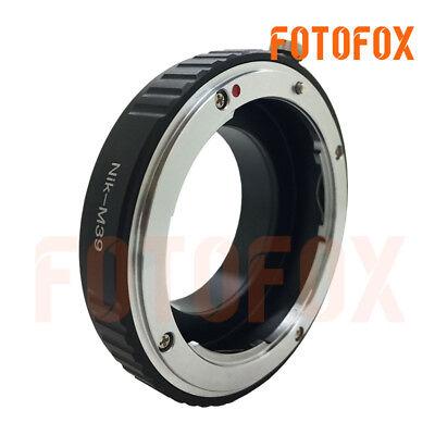Manual Adapter for Nikon Nikkor AI AIS F Lens to Leica Panasonic L Mount Camera