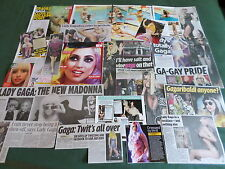 LADY GAGA - MUSIC  CELEBRITY  - CLIPPINGS /CUTTINGS PACK