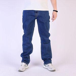 Levi-039-s-514-Straight-leg-Stonewashed-Blau-Herren-Jeans-31-32