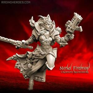 Details about Raging Heroes Naruel Firebrand (Crimson Redeemers) Female  Sisters
