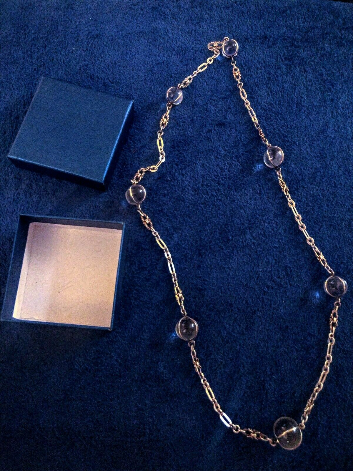 """Antique art deco """"Pools of Light"""" crystals and ch… - image 1"""