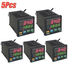 5x Mypin Ta4 Snr Digital Pid Temperature Controller 1 Alarm Relay Output Tcrtd