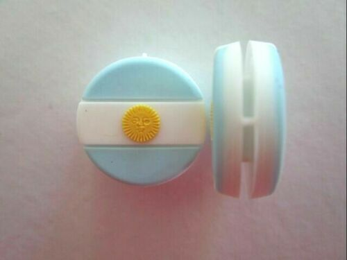 2 Argentina Flags Tennis Vibration Shock Absorber Dampeners Del Potro Diego Mess