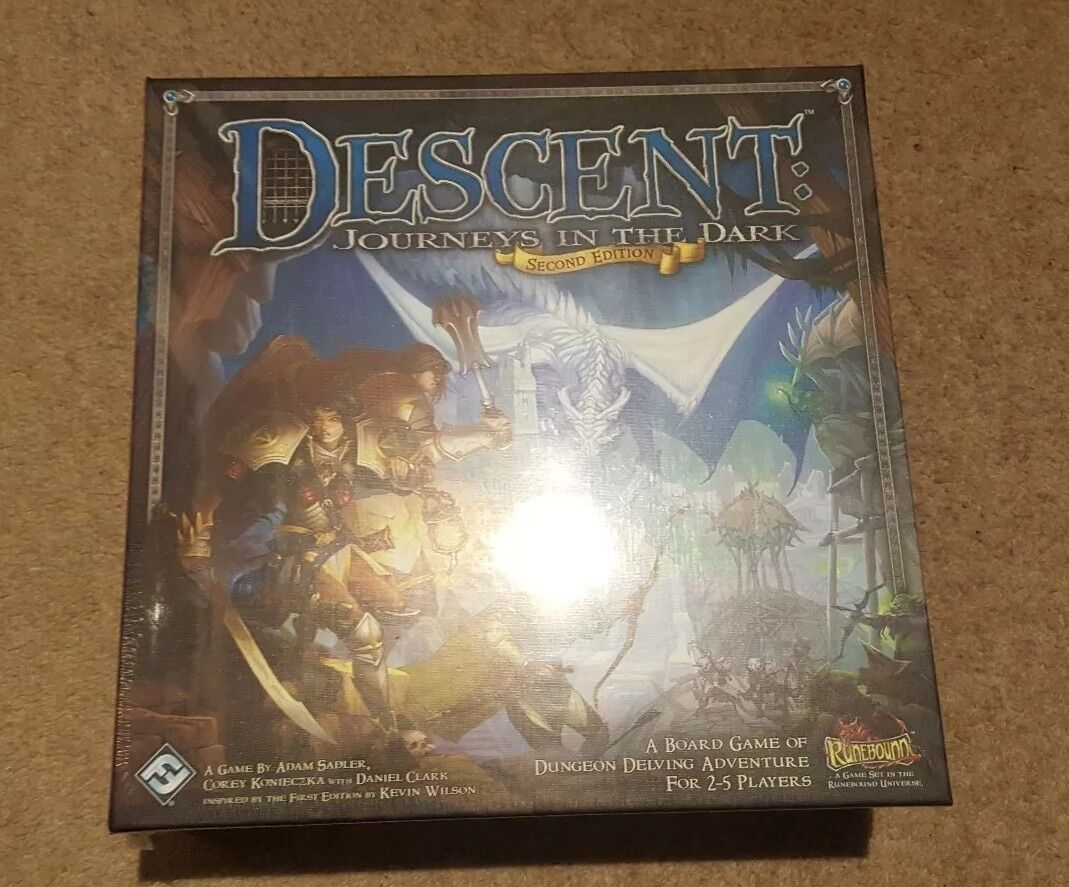 Fantasy Flight Games - Descent - Board Game - Second Edition - Boxed & in Shrink