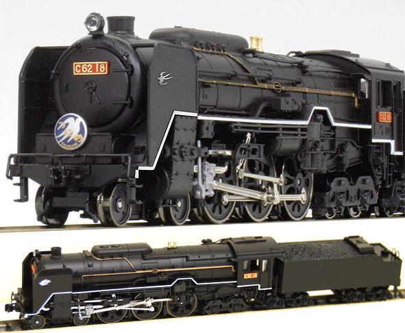 Kato 2019-1 Steam Locomotive 4-6-4 Type Type Type C62-18 - N b6940b