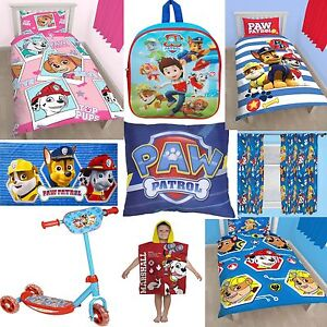 Paw Patrol Accessories Choose One Or More Bedding Quilt Kids