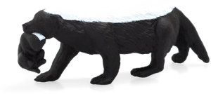 MOJO Honey Badger w//cub Wildlife Toy 387153 New Free Shipping