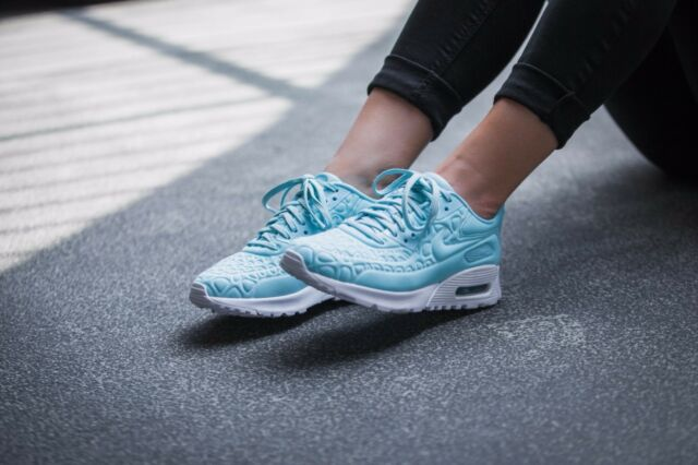 more photos 00972 d5ef6 Nike Air Max 90 Ultra Plush Women s Running Shoes Copa  Copa-White 844886  400