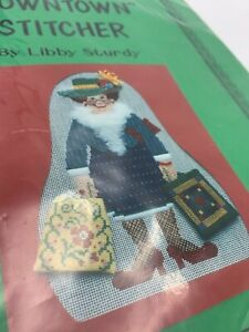 Downtown-Stitcher-Libby-Sturdy-Needlepoint-Canvas-amp-Stitch-Guide