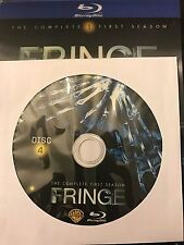 Fringe - Season 1 BLU-RAY, Disc 4 REPLACEMENT DISC (not full season)