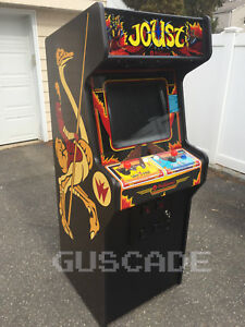 Details about NEW Joust Williams Classic Arcade Machine Multi Multicade  Full Size Guscade
