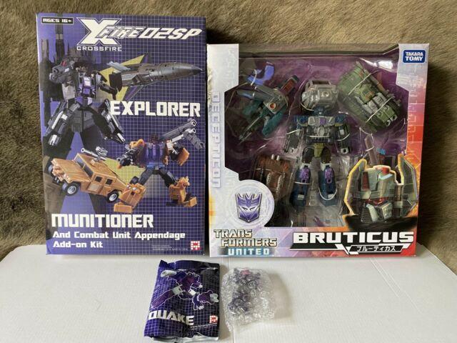 Transformers FansProject TF X-fire 02SP Explorer & Munitioner + United Bruticus
