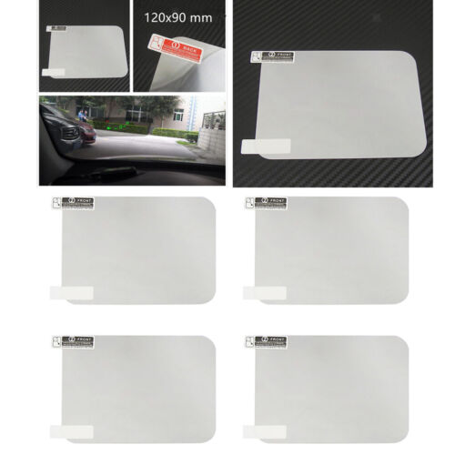 4x 120x90mm Head Up Display HUD Protective Film Reflective Projection Screen