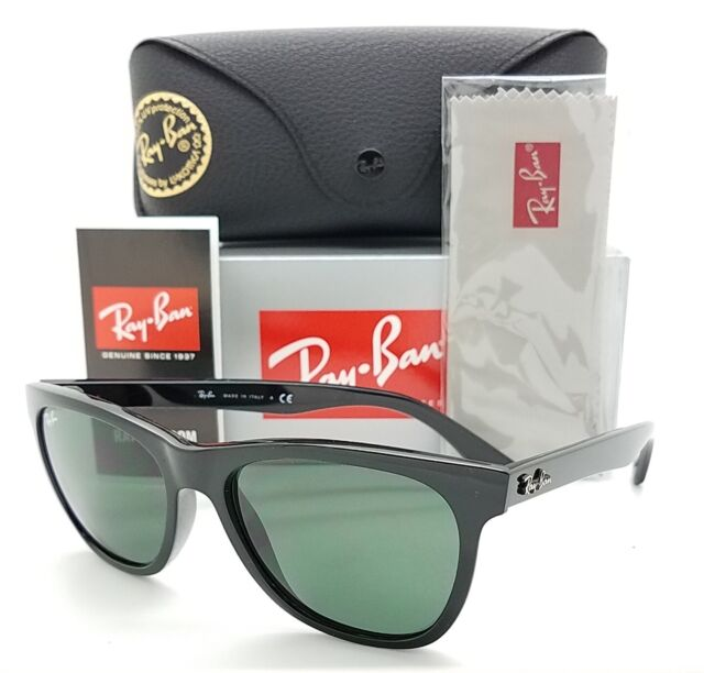 NEW Rayban Sunglasses RB4184 601/71 54mm Black Grey Green AUTHENTIC Square 4184