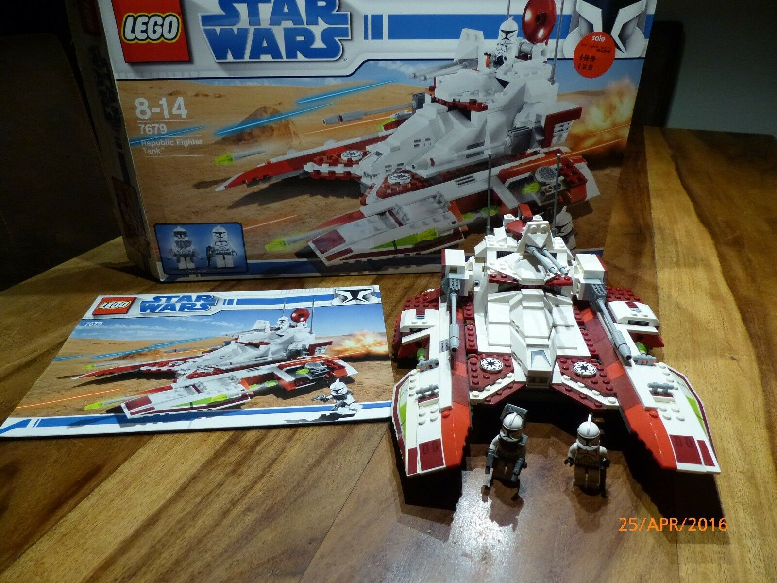 LEGO® Star Wars™ 7679 Republic Fighter Tank
