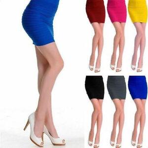 Slim-Hot-Dress-Stretch-Tight-Sexy-Fitted-Shorts-Pencil-Skirt-Mini-Women-Fashion